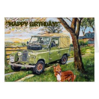 """Cartão ~Birthday da """"FAZENDA """""""