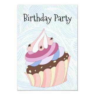 Cartão Birthday festa Invitation