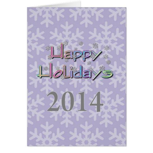 Cartão boas festas 2014