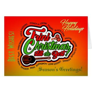 Cartão Boas festas/Natal de Trini