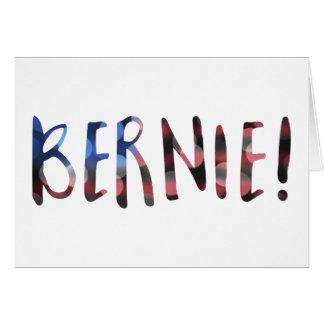 Cartão bokeh das máquinas de lixar de Bernie