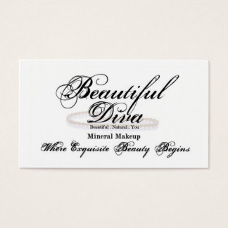 Cartão bonito da diva