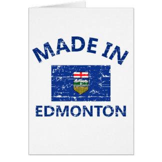 Cartão Brasão de Edmonton