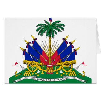 Cartão Brasão de Haiti