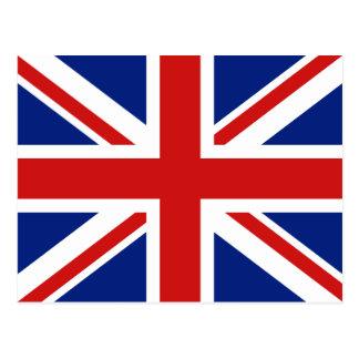 Cartão BRITÂNICO da bandeira