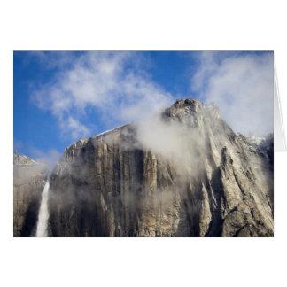 Cartão Cachoeira de Yosemite