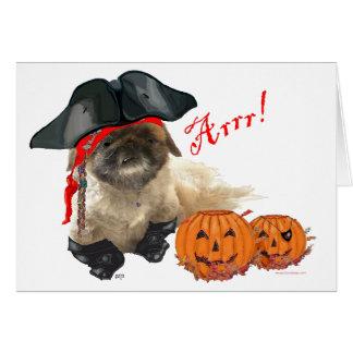 Cartão Cachorrinho do pirata