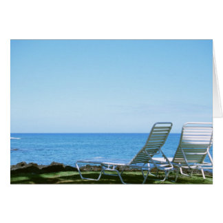 Cartão Cadeira de praia 4