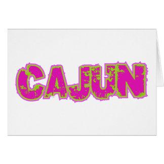 Cartão Cajun