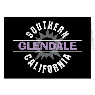 Cartão Califórnia do sul - Glendale