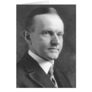 Cartão Calvin Coolidge