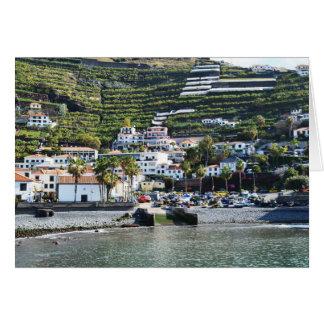Cartão Camara de Lobos, Madeira