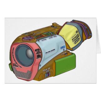 Cartão Câmara de vídeo do desenhista