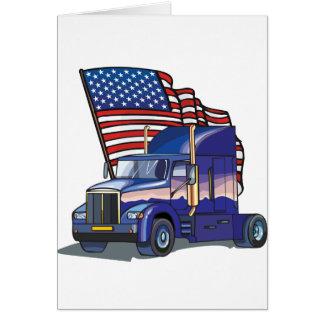 Cartão Camionista dos EUA