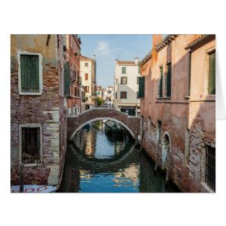 Cartão Canal Venetian