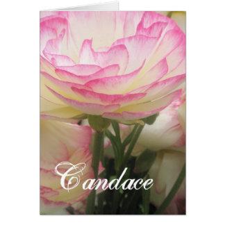 Cartão Candace