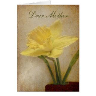 Cartão Cara mãe, feliz aniversario