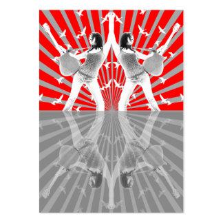 """Cartão carnudo da """"reflexão"""" cartão de visita grande"""