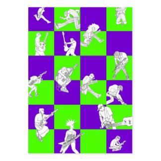 """Cartão carnudo do """"Checkmate"""" Cartão De Visita Grande"""