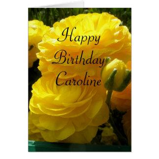 Cartão Caroline