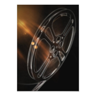 Cartão Carretel video legal do filme da produção do filme