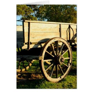 Cartão Carro do cavalo