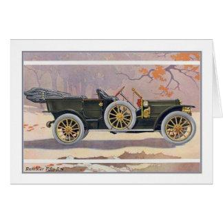 Cartão Carro do veterano