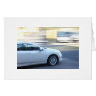 Cartão Carro rápido