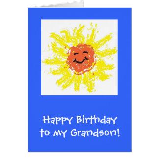 Cartão Cartão/neto feliz aniversario