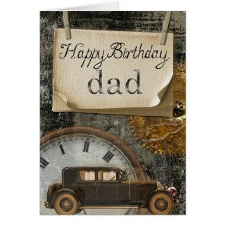 Cartão Cartão: Pai do feliz aniversario