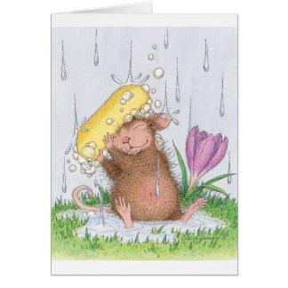 Cartão Casa-Rato Designs® - bom divertimento limpo