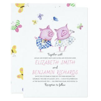 Cartão Casamento elegante e romântico do casal bonito dos