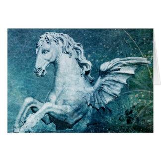 Cartão Cavalo da fonte do Trevi