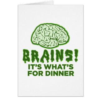 Cartão Cérebros, é o que é para o comensal