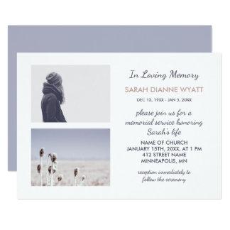 Cartão Cerimonia comemorativa feita sob encomenda do