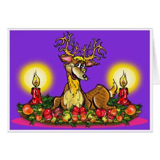 Cartão Cervo willibald Nr1