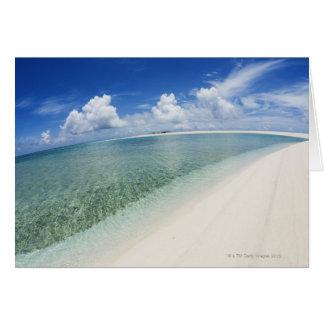 Cartão Céu azul e mar 5