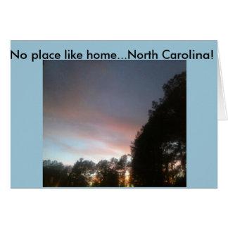 Cartão Céus de Carolina!