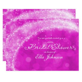 Cartão Chá de panela cor-de-rosa & branco de Cinderella