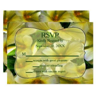 Cartão Cheio da felicidade RSVP