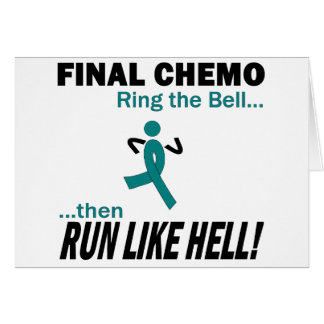 Cartão Chemo final funciona muito - cancer uterina