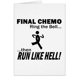 Cartão Chemo final funciona muito - melanoma