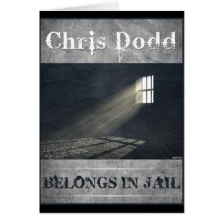 Cartão Chris Dodd