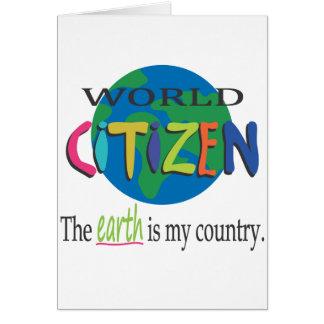 Cartão Cidadão do mundo