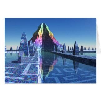 Cartão Cidade do Scifi