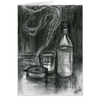 Cartão Cigarros e álcool