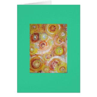 Cartão Círculos do quantum