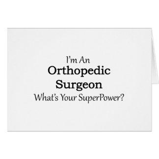 Cartão Cirurgião ortopédico