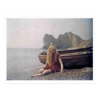 Cartão clássico da foto cartão postal