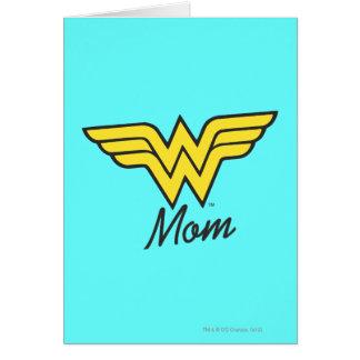 Cartão Clássico da mamã da maravilha